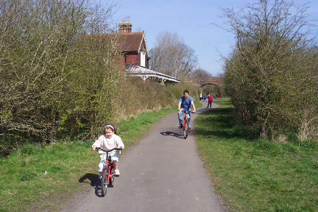 The Cuckoo Trail in East Sussex