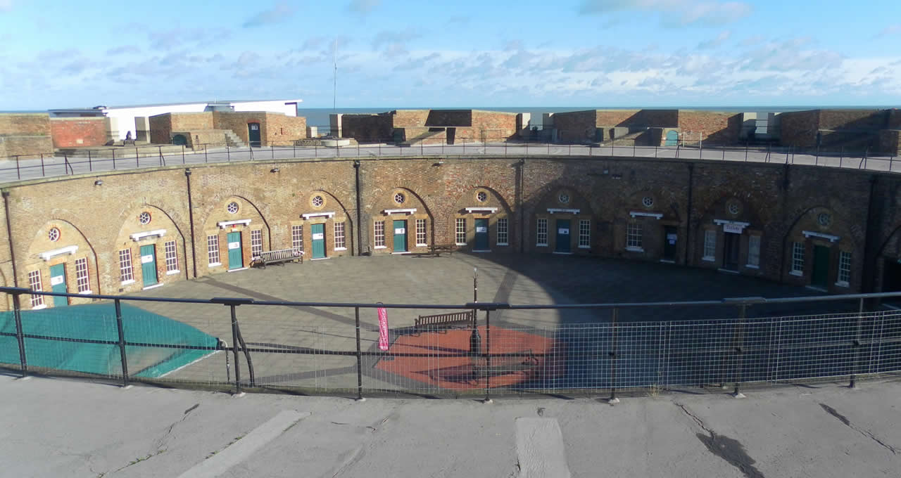 Ghost hunting at the Redoubt Fortress Eastbourne