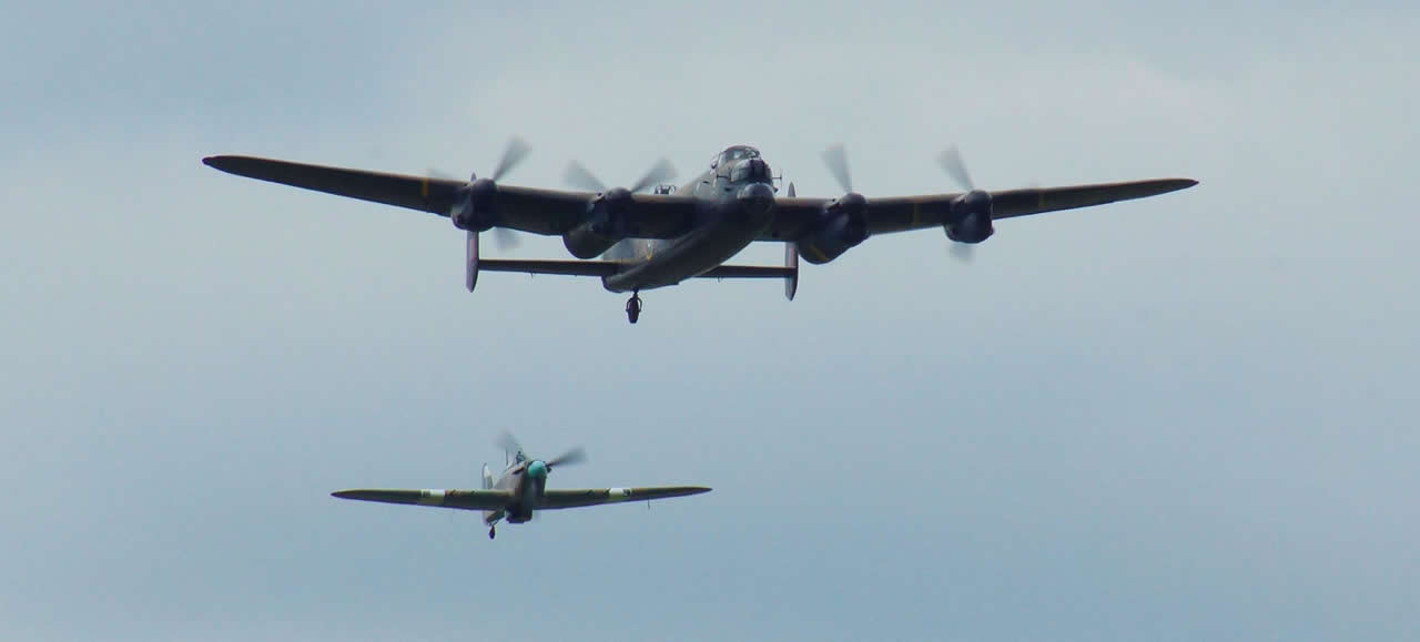 Avro Lancaster Bomber due at the Eastbourne Airshow