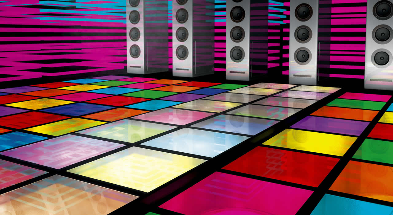 Dance floor that can generate electricity