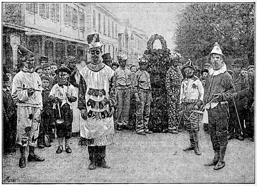 Cheltenham May Day Jack in the Green 1892