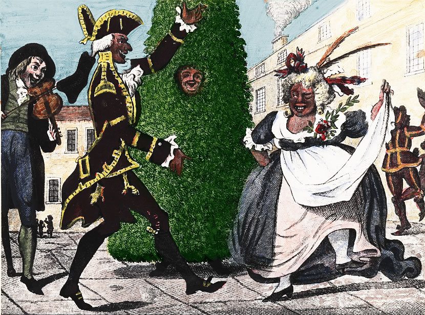 History of Jack in the Green London, 18th Century
