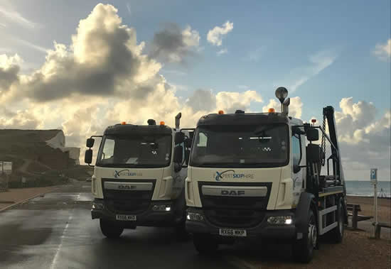 New additions to our fleet of trucks