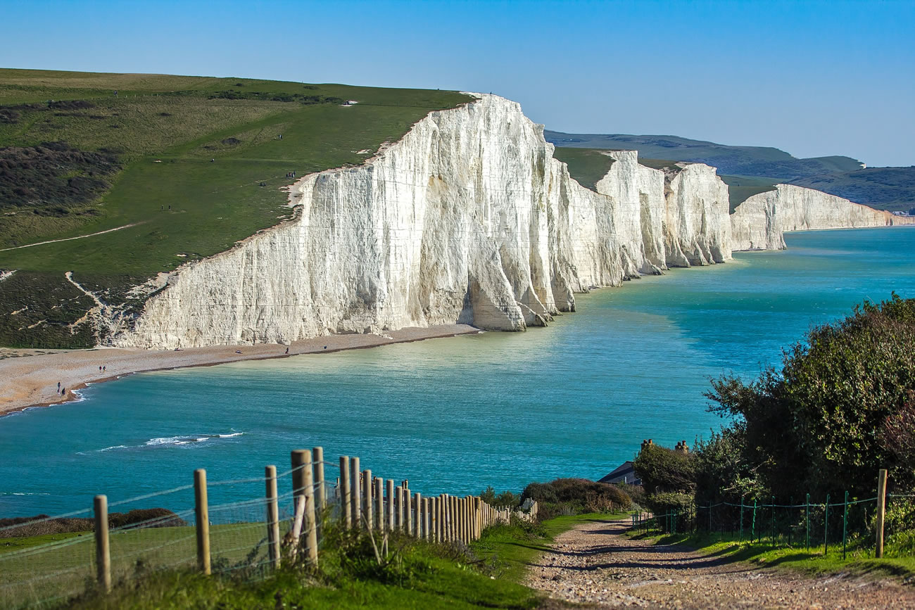 Eastbourne S Seven Sisters Cliffs Make Top 20 In Poll Of