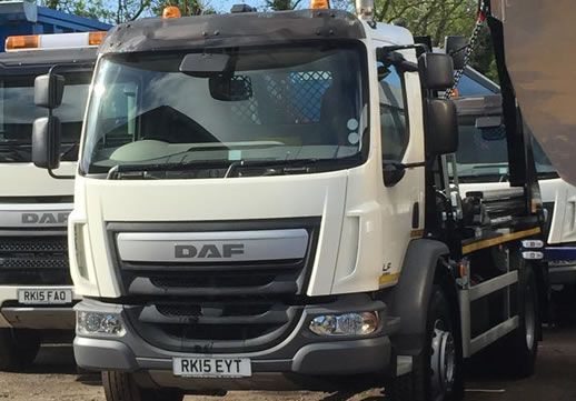 New skip hire trucks added to our fleet